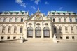 Vienna - Belvedere. Filtered color.