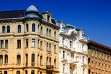 Vienna city. Filtered color.