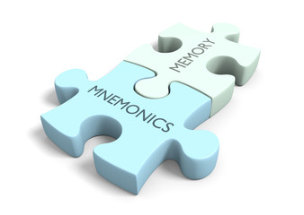 Brain training and memory improvement with mnemonics and games