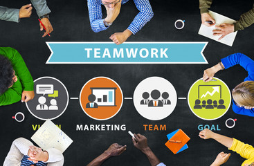 People Corporate Meeting Connection Teamwork Concept
