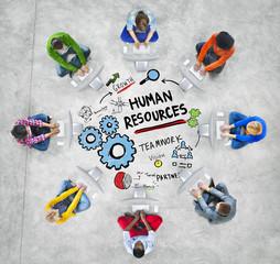 Human Resources Employment Job Teamwork Computer Technology