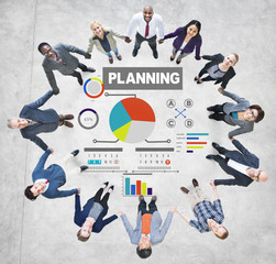 Business People Planning Ideas Friendship Support Concept