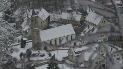 Church in German Village of Lichtenstein