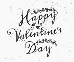Hand Drawn St. Valentine's Day Card
