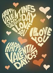 I love you, Valentine's Day, February 14