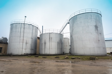 cottonseed oil storage tank