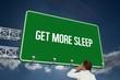 Get more sleep against sky