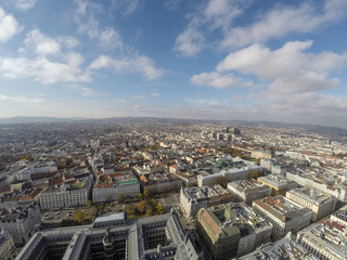 Vienna from above