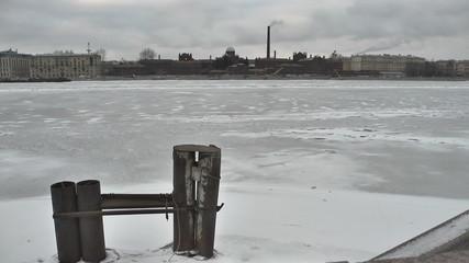 St. Petersburg. Prison Kresty on the Neva