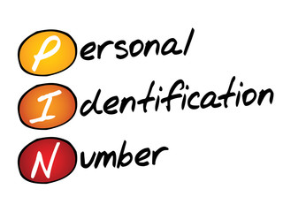 Personal Identification Number (PIN), business concept acronym