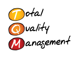 Total Quality Management (TQM), business concept acronym