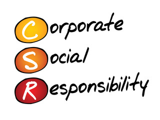 Corporate Social Responsibility (CSR), business concept