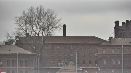 St. Petersburg. Prison on the Neva embankment