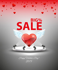 Sale for Valentine's Day