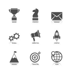 Start Up Icons with Reflection