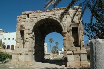 Libia. Tripoli Arco di Marco Aurelio