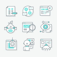 Website Redesign Icons