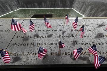 9/11 Nine Eleven Gedenkstätte Memorial New York