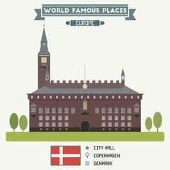 City Hall. Copenhagen, Denmark