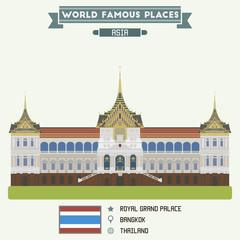 Royal Grand Palace. Bangkok, Thailand