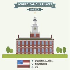 Independence Hall, Philadelphia, USA