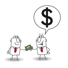 lend money