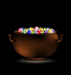 pot of gems