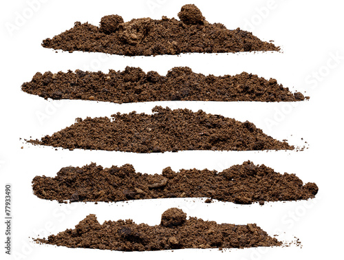 Set pile of soil - 77933490