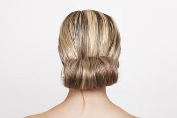Tidy chignon hairdo