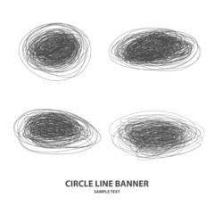 circle set cloud blot