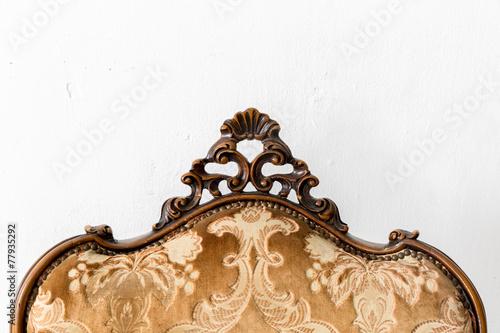 Brown Retro Chair - 77935292