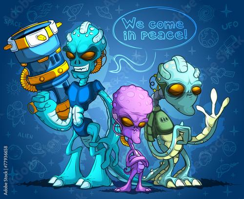Alien invaders - 77936658