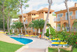 Modern luxury hotels with pool and park. - 77937238