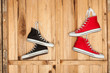 Canvas sneakers - 77937679