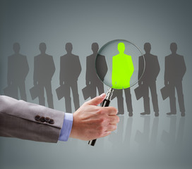Recruitment choosing the right people