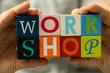 Leinwandbild Motiv workshop