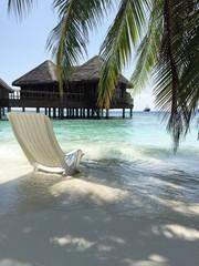 Maldives beach.