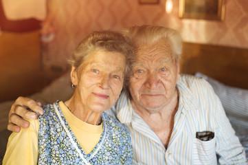 Happy senior couple