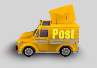 Furgoncino postale