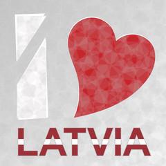 I Love Latvia