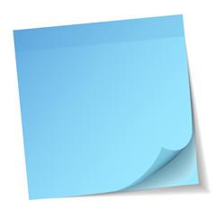 Blue Stick Note Pad