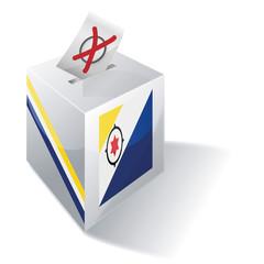 Wahlbox Bonaire
