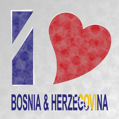I Love Bosnia and Herzegovina