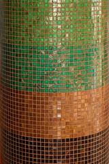 Mosaic pillar