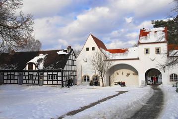 Jagdschloss Grunewald im Winter