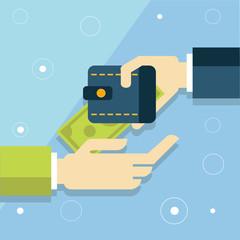Flat money, deposit money, Transferring Money and payment