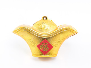 Golden stuff Chinese decoration for chinese new year