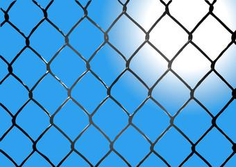 recinzione alba