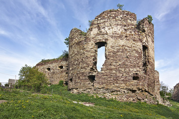 Бучачский замок XIV-XVI столетие