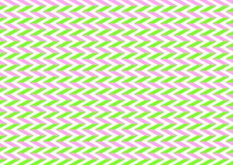 Fischgrätmuster in pink und hellgrün im Querformat